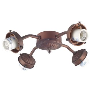 Bronze Fan Light Kit