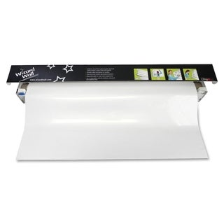 Wizard Wall 13 inch x 25 foot Cling On Static Dry Erase Jumbo Sheet Roll Film