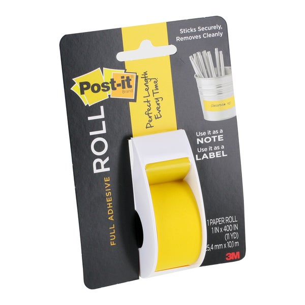 It is an image of Irresistible Post It Full Adhesive Label Pads