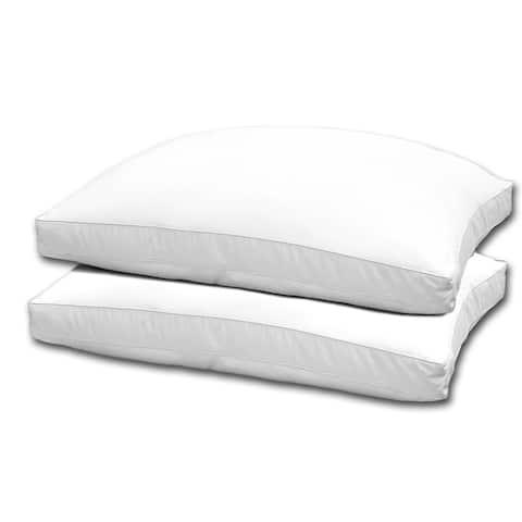 Hotel Grand 1000 Thread Count Optima Loft Down Alternative Pillow (Set of 2)