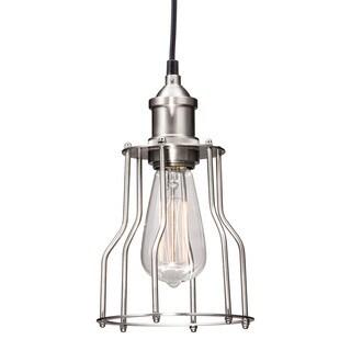 Adamite 1-light Antique Nickel Ceiling Lamp