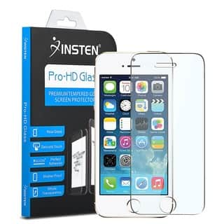 INSTEN Tempered Glass Screen Protector for Apple iPhone 5/ 5C/ 5S/ SE|https://ak1.ostkcdn.com/images/products/8500469/P15785963.jpg?impolicy=medium