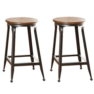 Greyson Living Abella 24-inch Counter-height Stool (Set of 2)