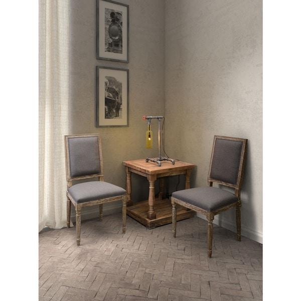 Amberine 1-light Grey Table Lamp