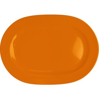 Waechtersbach Fun Factory Orange Oval Platters (Set of 2)