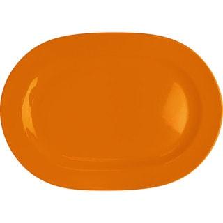 Waechtersbach Fun Factory Orange Oval Platters (Set of 2)