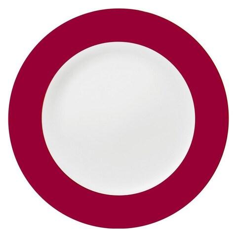 Konitz Ruby China Salad & Dessert Plates (Set of 2)