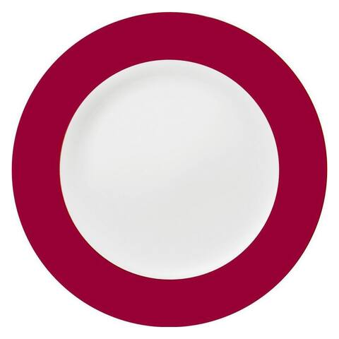 Konitz Ruby China Salad & Dessert Plates (Set of 2)