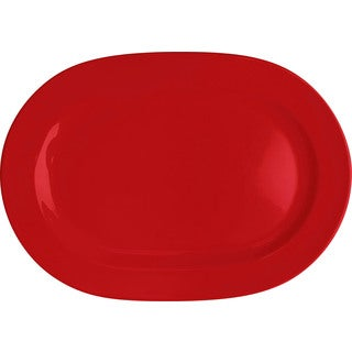 Waechtersbach Fun Factory Red Oval Platters (Set of 2)