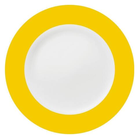 Konitz Yellow China Salad & Dessert Plates (Set of 2)