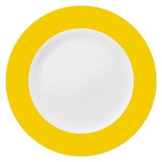 Konitz Yellow China Salad & Dessert Plates (Set of 2)