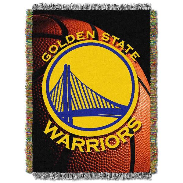 NBA Golden State Warriors Photo Real Woven Tapestry Throw