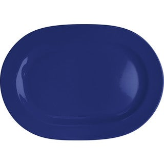 Waechtersbach Fun Factory Royal Blue Oval Platters (Set of 2)