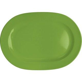 Waechtersbach Fun Factory Green Apple Oval Platters (Set of 2)