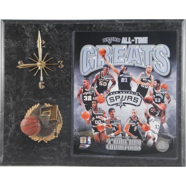 All Time Greats San Antonio Spurs Clock