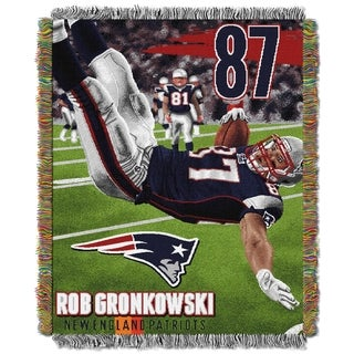 NFL Player Woven Tapestry Throw