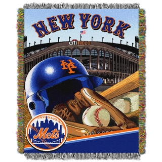 MLB Woven Tapestry Throw