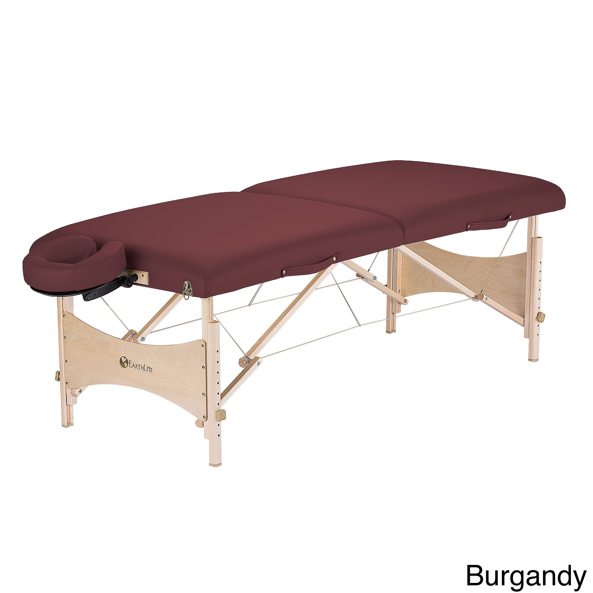Earthlite Harmony Table Package (Burgundy (Red))