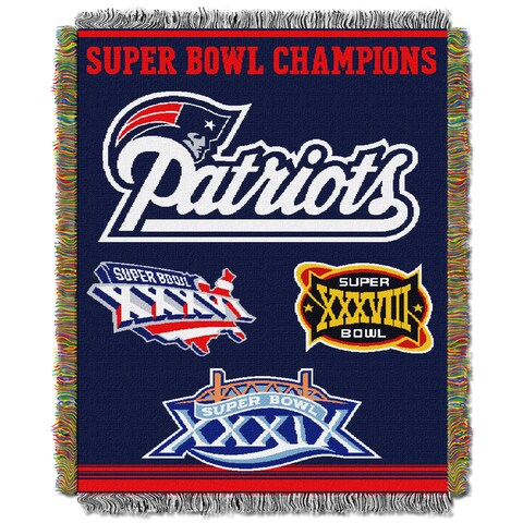 NFL 051 Super Bowl Champion Woven Tapestry Throw