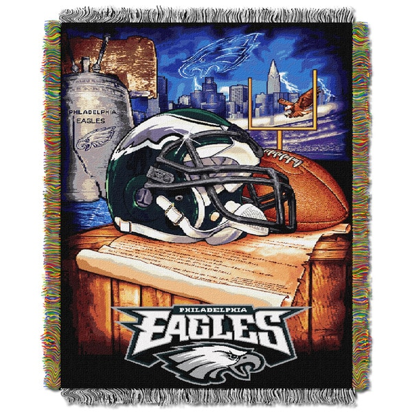 NFL Philadelphia Eagles Woven Tapestry Throw