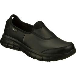 Women's Skechers Work Relaxed Fit Sure Track Black