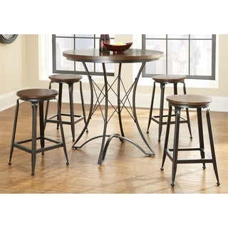 Carbon Loft Johansson Counter Height Pub Table Set  sc 1 st  Overstock : round pub table set - pezcame.com
