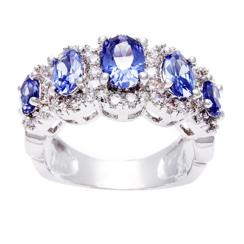 Five Stone Rings | Find Great Jewelry Deals Shopping at