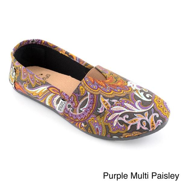 Corkys Women's Paisley Slip On Sues