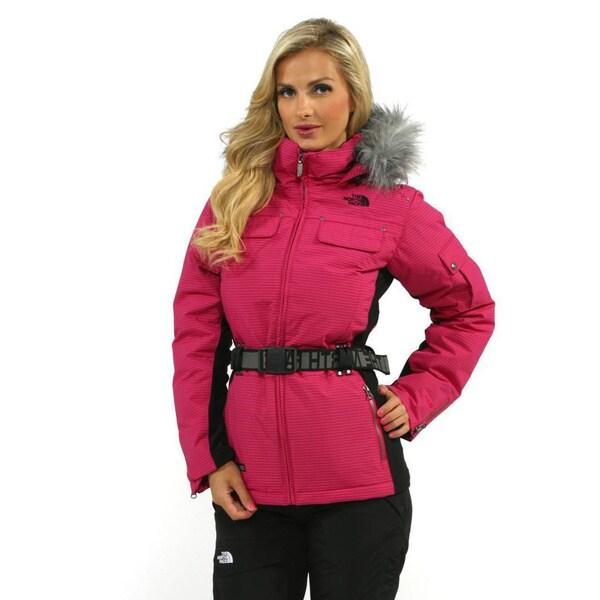 The North Face Women's Pop Pink Steep Tech Peak 7 Down Jacket