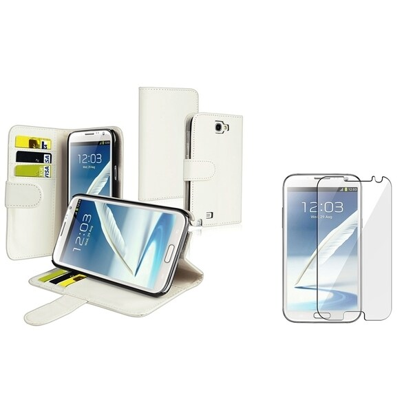 BasAcc Case/ Anti-glare LCD Protector for Samsung Galaxy Note II N7100