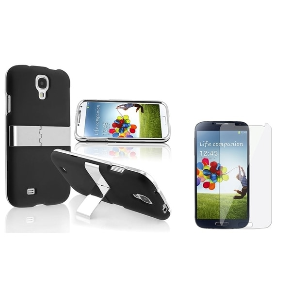 INSTEN Stand Phone Case Cover/ Screen Protector for Samsung Galaxy S IV/ S4