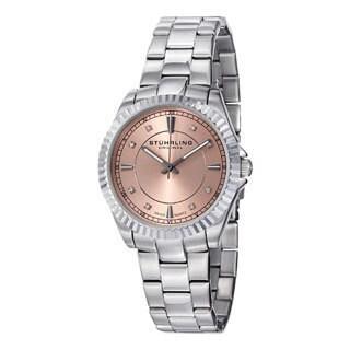 Stuhrling Original Women's Lady Marine Stainless Steel Swiss Quartz Bracelet Watch