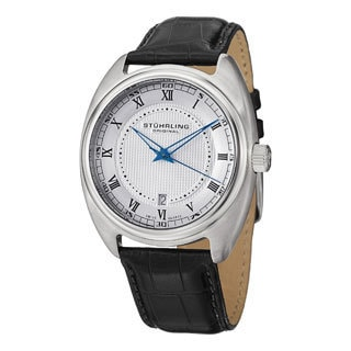 Stuhrling Original Men's Twenty Swiss Quartz Strap Strap Watch
