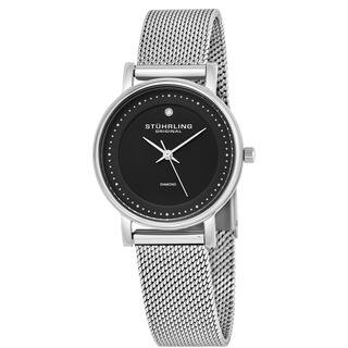 Stuhrling Original Women's Lady Casatorra Elite Diamond Swiss Quartz Bracelet Watch|https://ak1.ostkcdn.com/images/products/8502910/P15788070.jpg?impolicy=medium