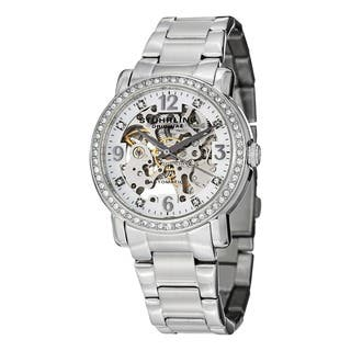 Stuhrling Original Women's Lady Canterbury Automatic Bracelet Bracelet Watch|https://ak1.ostkcdn.com/images/products/8502945/P15788102.jpg?impolicy=medium