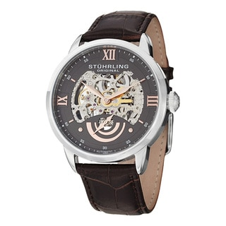 Stuhrling Original Men's Executive II Automatic Strap Strap Watch