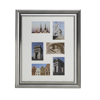 Melannco Champagne 6-photo Matted Collage Frame