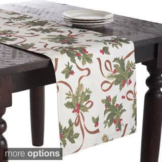 Holly Design Reversible Table Linens|https://ak1.ostkcdn.com/images/products/8503052/Holly-Design-Reversible-Table-Linens-P15788177.jpg?impolicy=medium