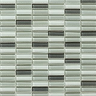 Martini Mosaic 12x11.75 Aria Pebble Creek Tile (Pack of 10)