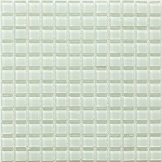 Martini Mosaic 12x12 Piazza Delicate Mint Tile (Pack of 10)