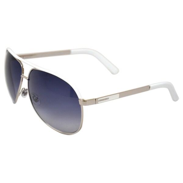 cdb6e58a6404 Shop Gucci Unisex 'Gucci 1827/S 04DJ Palladium' Sunglasses - Free ...