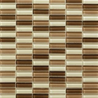 Martini Mosaic 12x11.75 Aria Cafe Mocha Tile (Pack of 10)