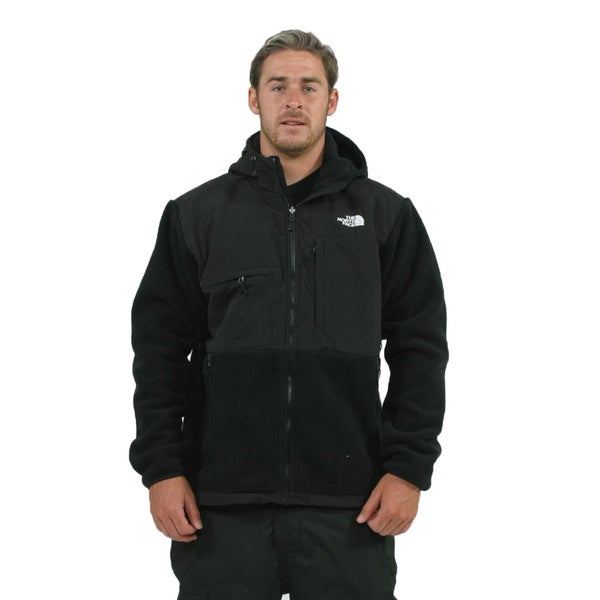 cae130c1366 Shop The North Face Men s Denali Hoodie Black Jacket - Free Shipping ...