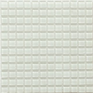 Martini Mosaic 12 x 12 Piazza Crystal Ice (Pack of 10)
