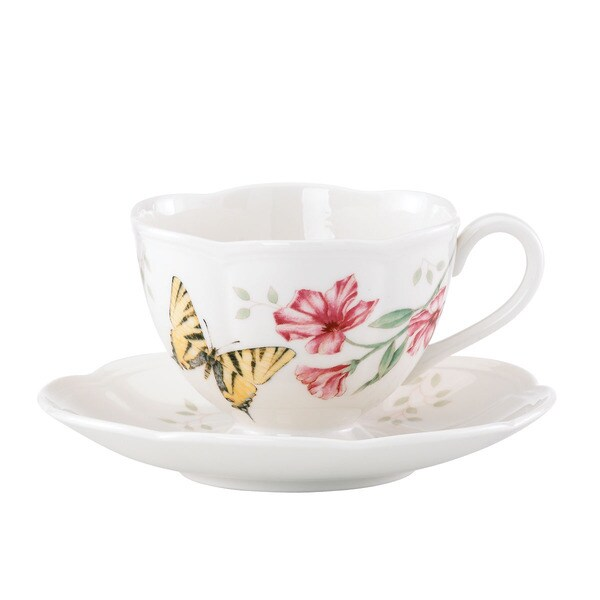 Shop Lenox Butterfly Meadow Tiger Swallowtail Cup And