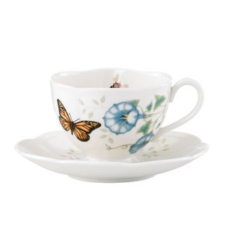 Lenox Butterfly Meadow Monarch Cup and Saucer