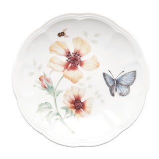 Shop Lenox Butterfly Meadow 6 Piece Party Plate Set Free