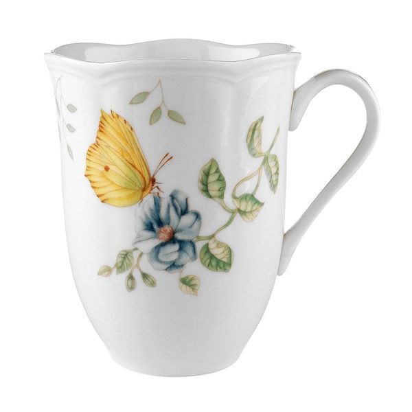 Shop Lenox Butterfly Meadow 12 Ounce Dragonfly Mug Free