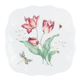 Lenox Butterfly Meadow Square Accent Plate