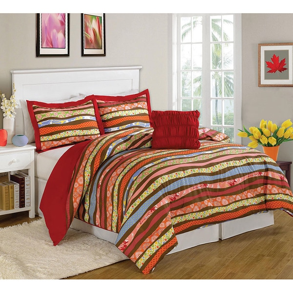 Parkslope 8-piece Bed in a Bag with Sheet Set